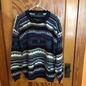 Vintage 80s protege collection coogi like sweater